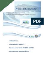 Presentacion IPC Noviembre 2012 DIGESTYC