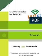 Roaming en Redes Inalámbricas