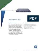 HP 5500 HI Switch Series_ds