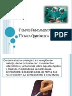 Tiempos Fundamentales de La Cirugia