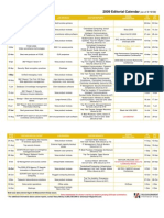 2009 GCN Editorial Calendar