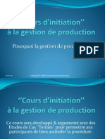 Cours d'initiation à la gestion de production