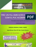 Poster Xerrada