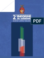 2do Informe Mario Lopez Valdez