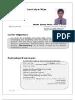 CV of Reza-E-Rabbi