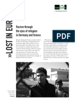 Racism through the eyes of refugees in Germany and Greece