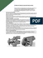 Componentes Del Sistema de Frenos en Una Motoniveladora
