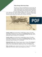 Portage La Loche (Methye Portage) Metis Scrip claims