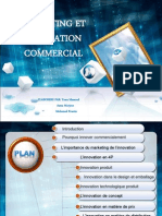 exposé marketing et innovation commercial