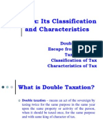 Lesson 3 - TAX Its Characteristics and Classification