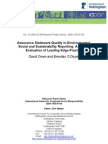 23-Assurance Statement Quality in Environmental, Social and Sustainability Reporting a Cri