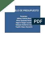 Modelo de Presupuesto Practica Para Expo Final