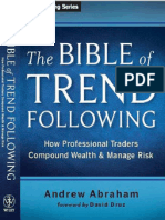 The Bible of Trend Following - Table of Contents