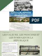 Manuel 3° Chapitre Valeurs, principes et symboles de la République