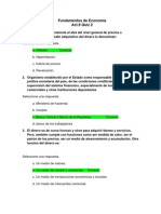Act. 9 Quiz 2 - Fundamentos de Economia