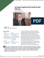 Money Laundering Lawsuit Against Fed
