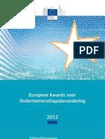 Europese Awards voor Ondernemerschapsbevordering 2012