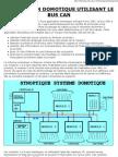 Application Domotique Utilisant Le BUS CAN