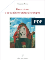 preve-ilmarxismoelatradizioneculturaleeuropea