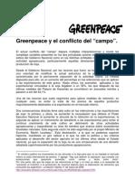 Conflict o Agra Rio Greenpeace