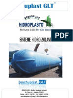 Sisteme hidroizolante Leschuplast