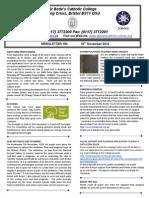 Newsletter 150 16.11.12