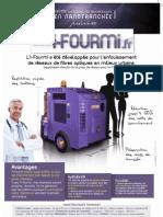 i-FOURMI, la nano-trancheuse pour pose de fibre optique en milieu urbain