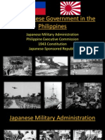 The Japanese Government in the Philippines