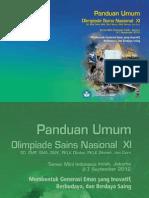 Buku Panduan OSN XI Tampilan Ok