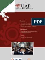 Folleto II - Escuela de Gobierno y Planificación