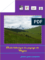 Etude historique du paysage de Megève