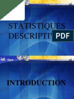 statistiques discriptives