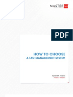 How to Choose a Tag Management System