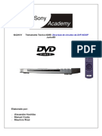 Treinamento DVD Sony DVP-NS50p