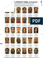 Most Wanted Property Crime Offenders Nov. 2012