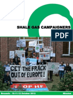 Shale Gas Campaigners Meeting - Minutes