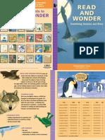 Read and Wonder Brochure