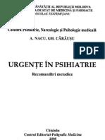 Urgente in Psihiatrie [recomandari metodice]