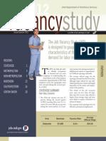 Utah Job Vacancy Study 2012