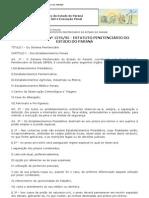 CEP DECRETO Nº 1276_95 - ESTATUTO PENITENCIÁRIO DO ESTADO DO PARANÁ