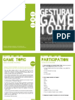 Concours Game Topic Sujet2012
