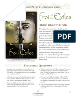 Froi of the Exiles The Lumatere Chronicles by Melina Marchetta - Discussion Guide