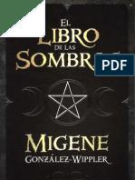 Libro de Las Sombras - Migene Gonzalez