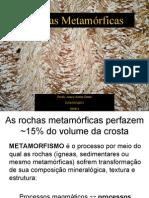 Geologia Introdutoria (05) Rochas Metamorficas