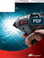 Ingersoll Rand QX Series Cordless Screwdriver Catalog 2012
