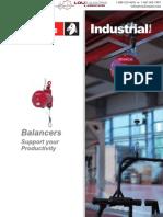 2012 Desoutter Tool Balancers Catalog