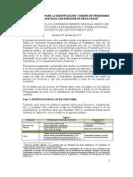 Identificacion Diseno Programas Presupuestales