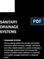 Sanitary Drainage Systems