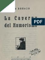50742688 Pio Baroja La Caverna Del Humorismo