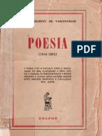 Mário Cesariny de Vasconcelos - Poesia (1944-1955)